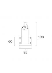 RAILLUX MONO LED 3-FASE