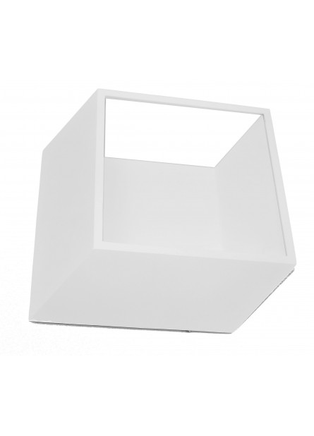 WANDLAMP 3D BOX LED 12W 3000K WIT