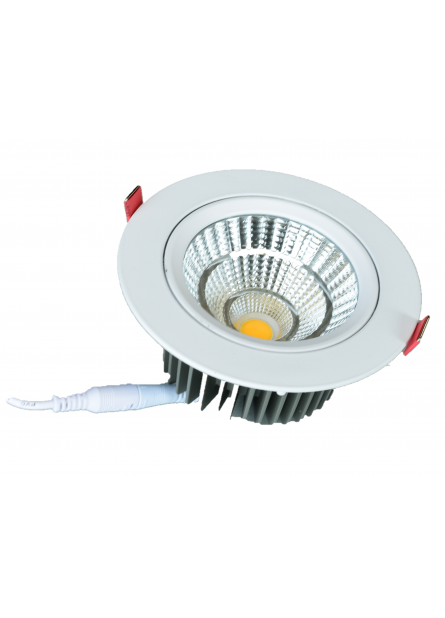 INBOUW SPOT LED 145 WIT