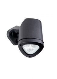 APEX 4.5W LED 3000K IP65 GRIJS WALL OR SPIKE