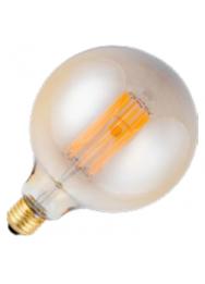 LED LAMP E27 600LM 8W 2200K 230V GOLD DIM