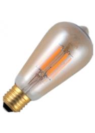 LED LAMP E27 400LM 5,5W 200K 230V GOLD DIM