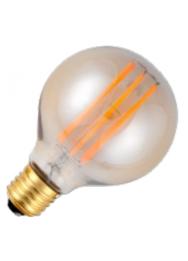 LED LAMP E27 400LM 6,5W 2200K 230V GOLD DIM