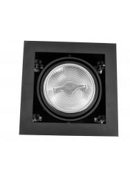 LED INBOUW KARDAN 2200-2800K 15W 36GR ZWART